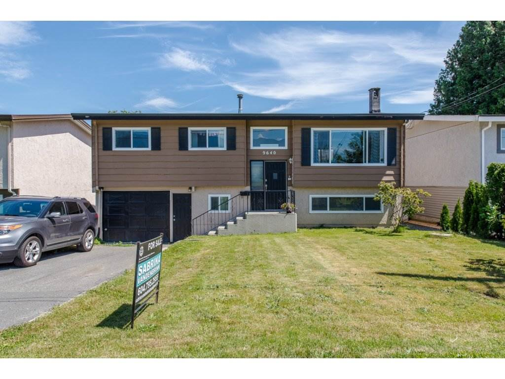 Main Photo: 9640 HAMILTON Street in Chilliwack: Chilliwack N Yale-Well House for sale : MLS®# R2181709