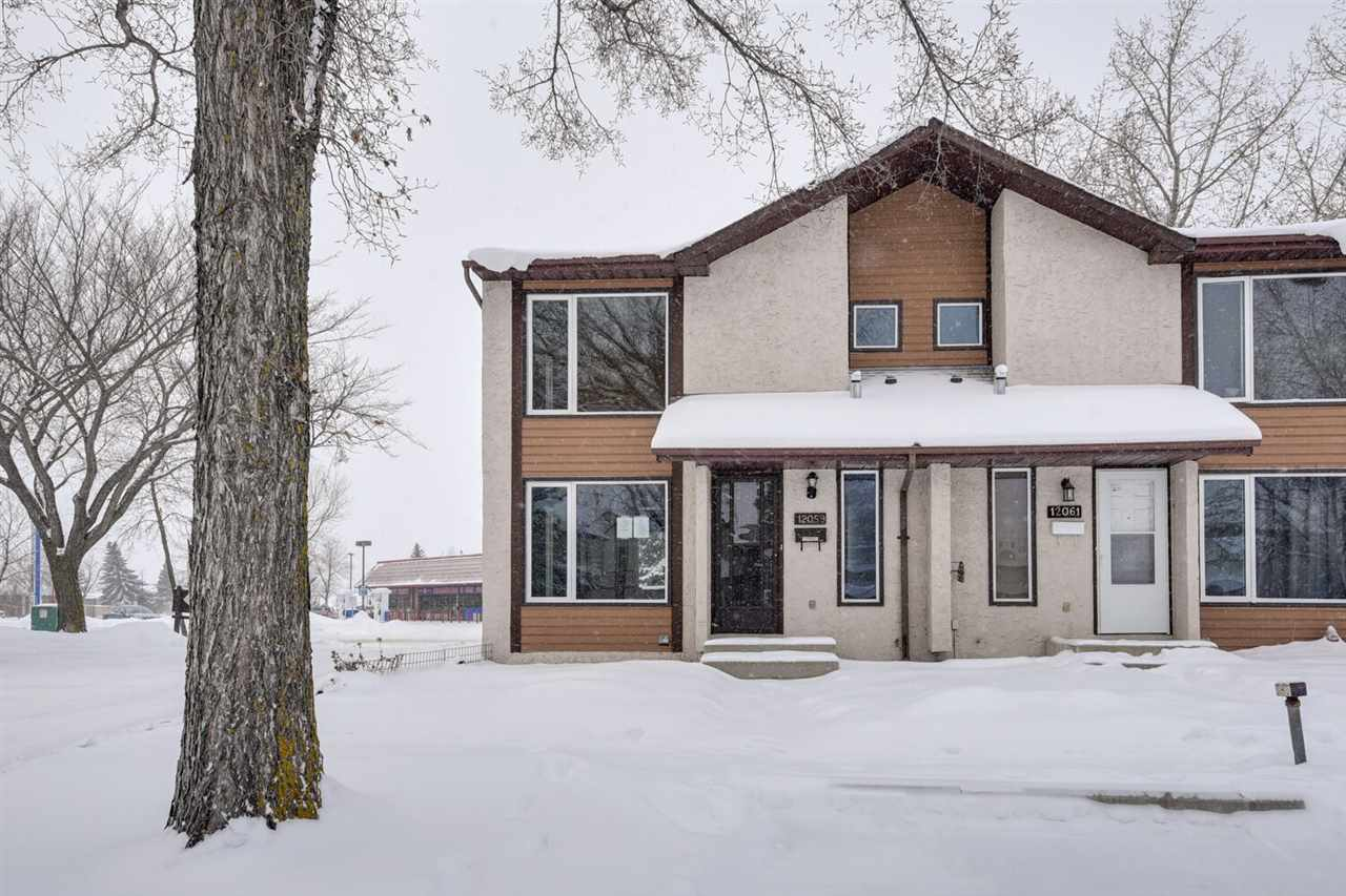 Main Photo: 12059 162 Avenue in Edmonton: Zone 27 House Half Duplex for sale : MLS® # E4095407