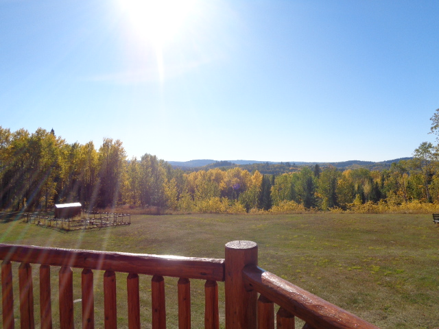 VIEW FROM DECK OF FRONT PART OF PROPERTY
