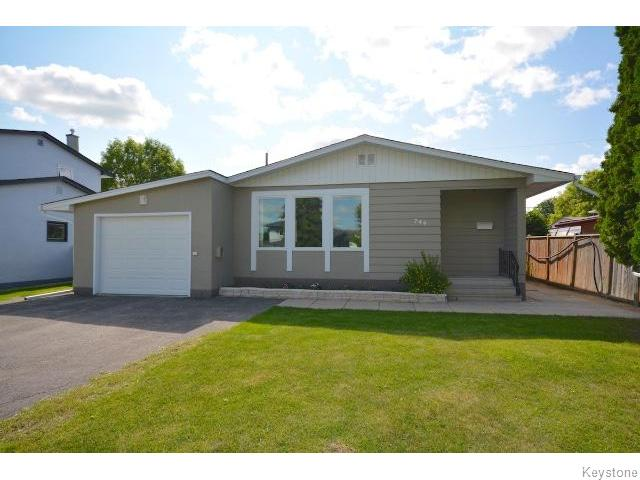 Main Photo: Setter Street in Winnipeg: Residential for sale : MLS® # 1518708