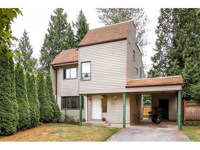 Main Photo: 3 2986 COAST MERIDIAN Road in Port Coquitlam: Birchland Manor House for sale : MLS®# V1135104
