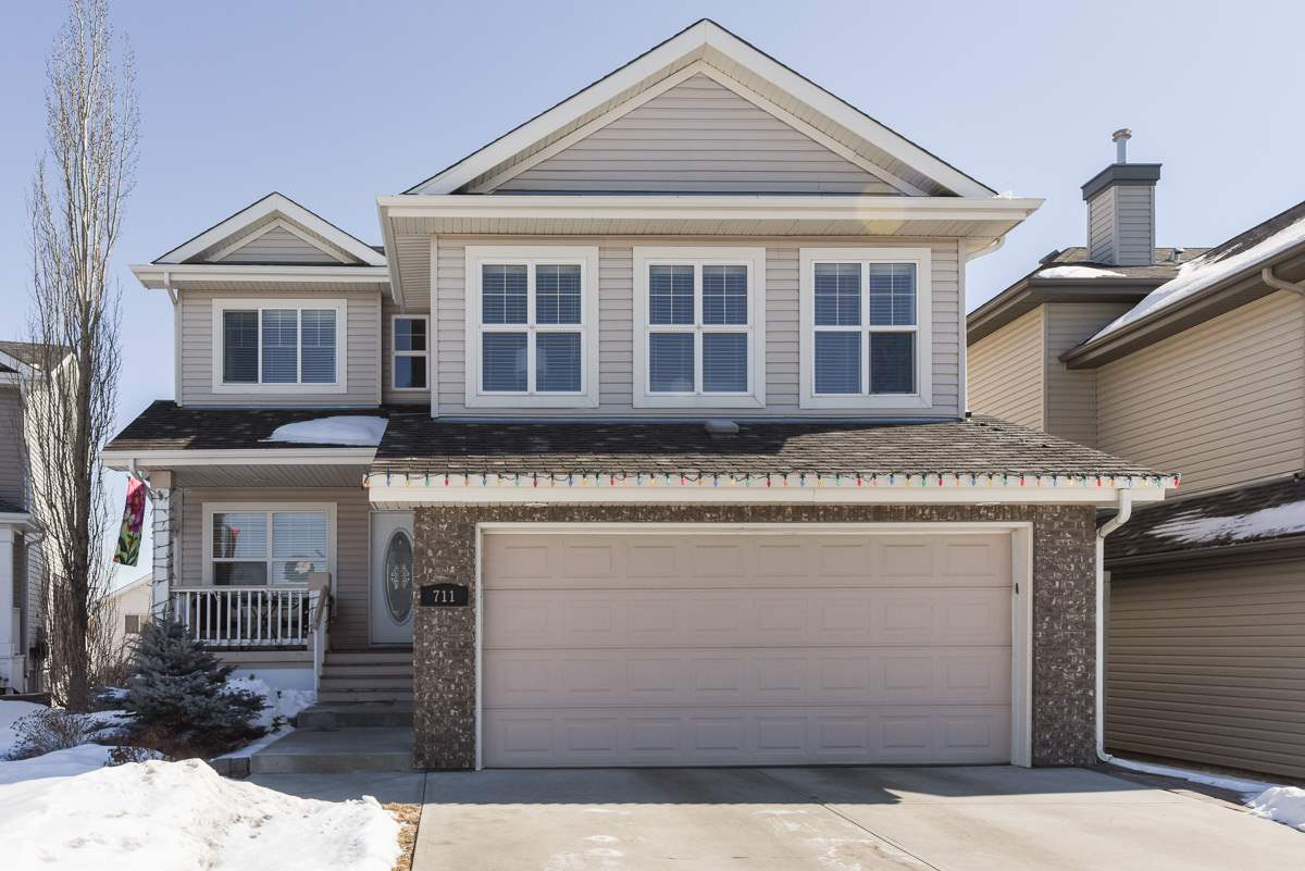 Main Photo: 711 LAUBER Crescent NW in Edmonton: Zone 14 House for sale : MLS®# E4103450