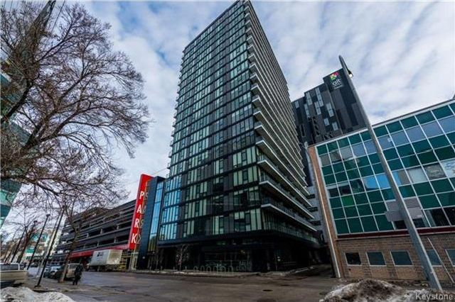 Main Photo: 808 311 Hargrave Street in Winnipeg: Downtown Condominium for sale (9A)  : MLS® # 1729857