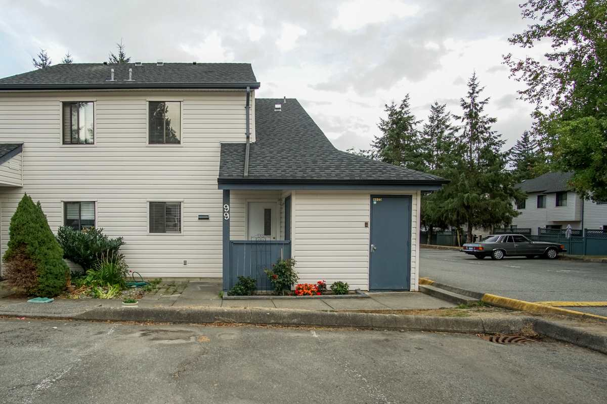 "Main Photo: 99 6673 138 Street in Surrey: East Newton Townhouse for sale in ""HYLAND CREEK"" : MLS® # R2207078"