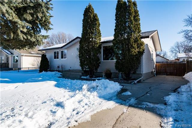 Main Photo: 103 Reay Crescent in Winnipeg: Valley Gardens Residential for sale (3E)  : MLS®# 1804630