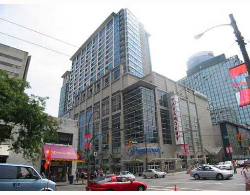 Main Photo: # 1802 938 SMITHE ST in Vancouver: Downtown VW Condo for sale (Vancouver West)  : MLS® # V611893