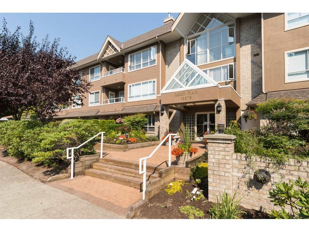 "Main Photo: 106 15375 17 Avenue in Surrey: King George Corridor Condo for sale in ""Carmel Place"" (South Surrey White Rock)  : MLS® # R2200991"