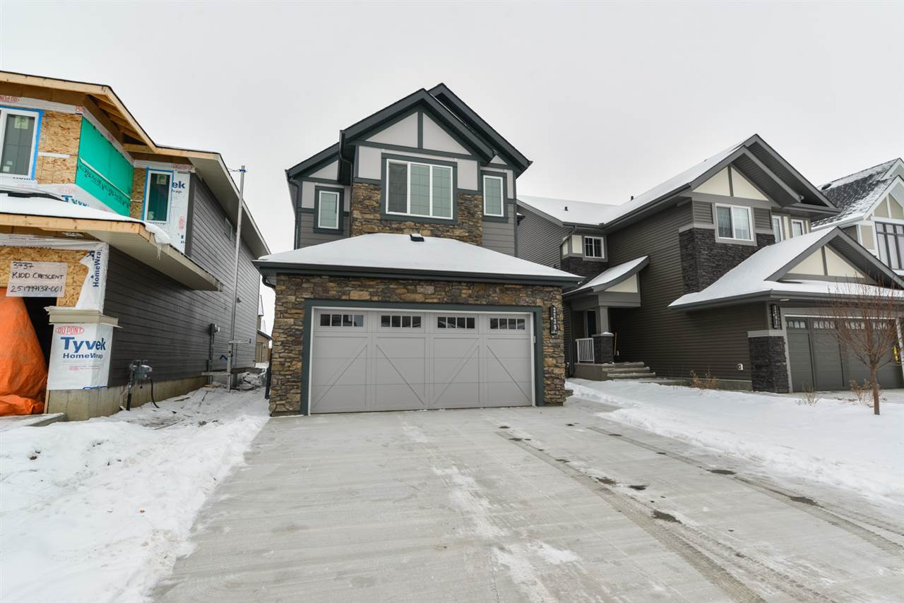 Main Photo: 3737 Kidd Crescent SW in Edmonton: Zone 56 House for sale : MLS® # E4086646