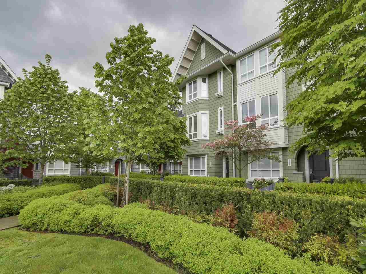 Main Photo: # 110 - 2418 Avon  Place in Port Coquitlam: Riverwood Townhouse for sale : MLS® # R2166312