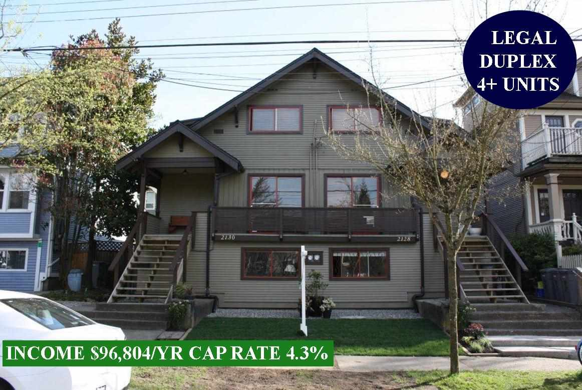 FEATURED LISTING: 2128 PENDER Street East Vancouver