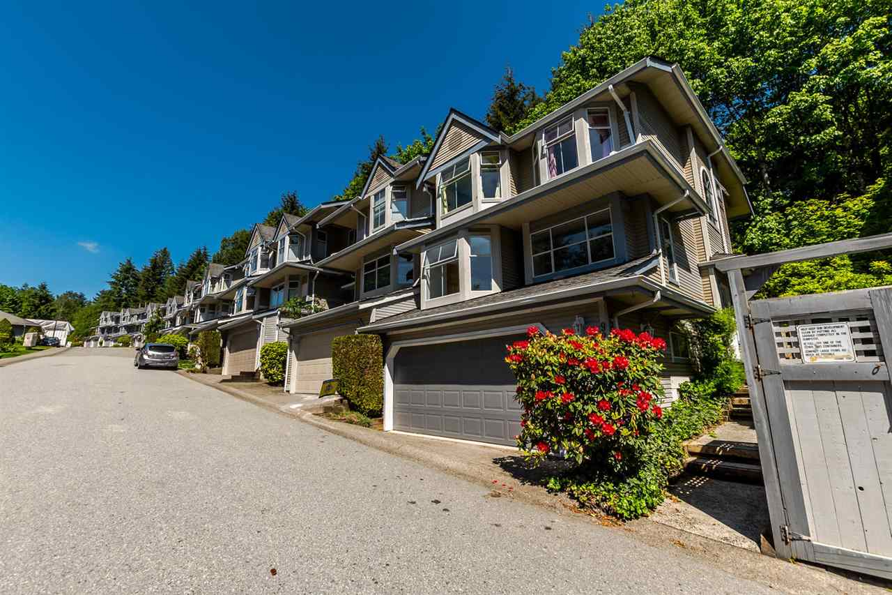 "Main Photo: 9263 GOLDHURST Terrace in Burnaby: Forest Hills BN Townhouse for sale in ""COPPER HILL"" (Burnaby North)  : MLS®# R2171039"