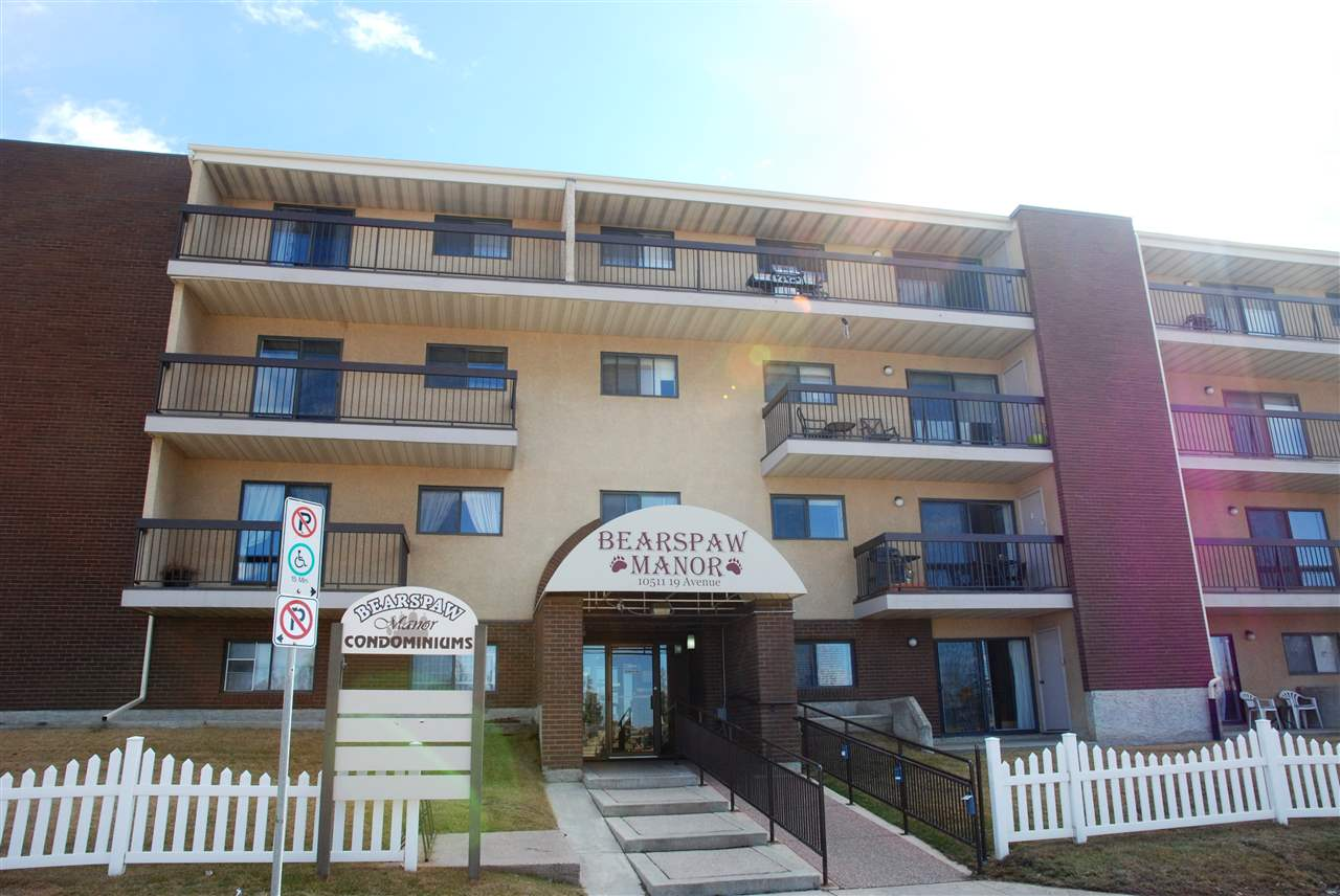 Main Photo: 107 10511 19 Avenue in Edmonton: Zone 16 Condo for sale : MLS® # E4072296