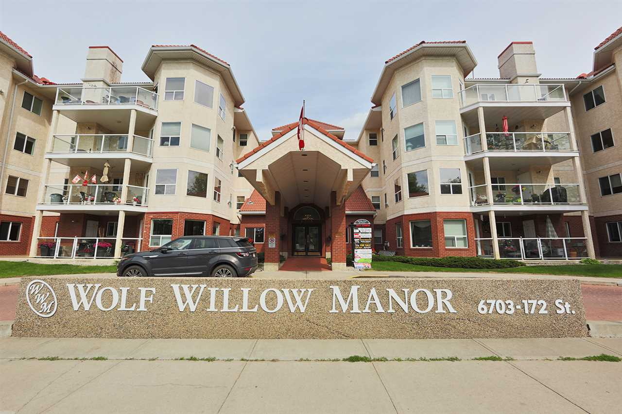 Main Photo: 116 6703 172 Street in Edmonton: Zone 20 Condo for sale : MLS®# E4115552
