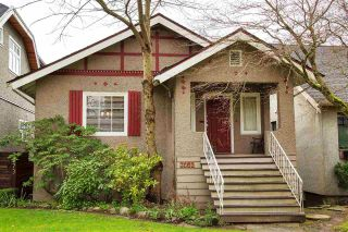 Main Photo: 2665 WATERLOO Street in Vancouver: Kitsilano House for sale (Vancouver West)  : MLS® # R2255444