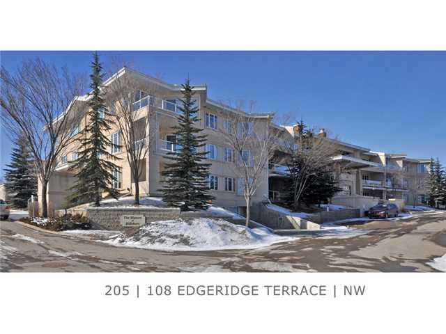 Photo 1: 205 108 EDGERIDGE Terrace NW in Calgary: Edgemont Condo for sale : MLS® # C3655268