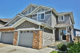 Main Photo: 16539 134 Street in Edmonton: Zone 27 House Half Duplex for sale : MLS® # E4077218
