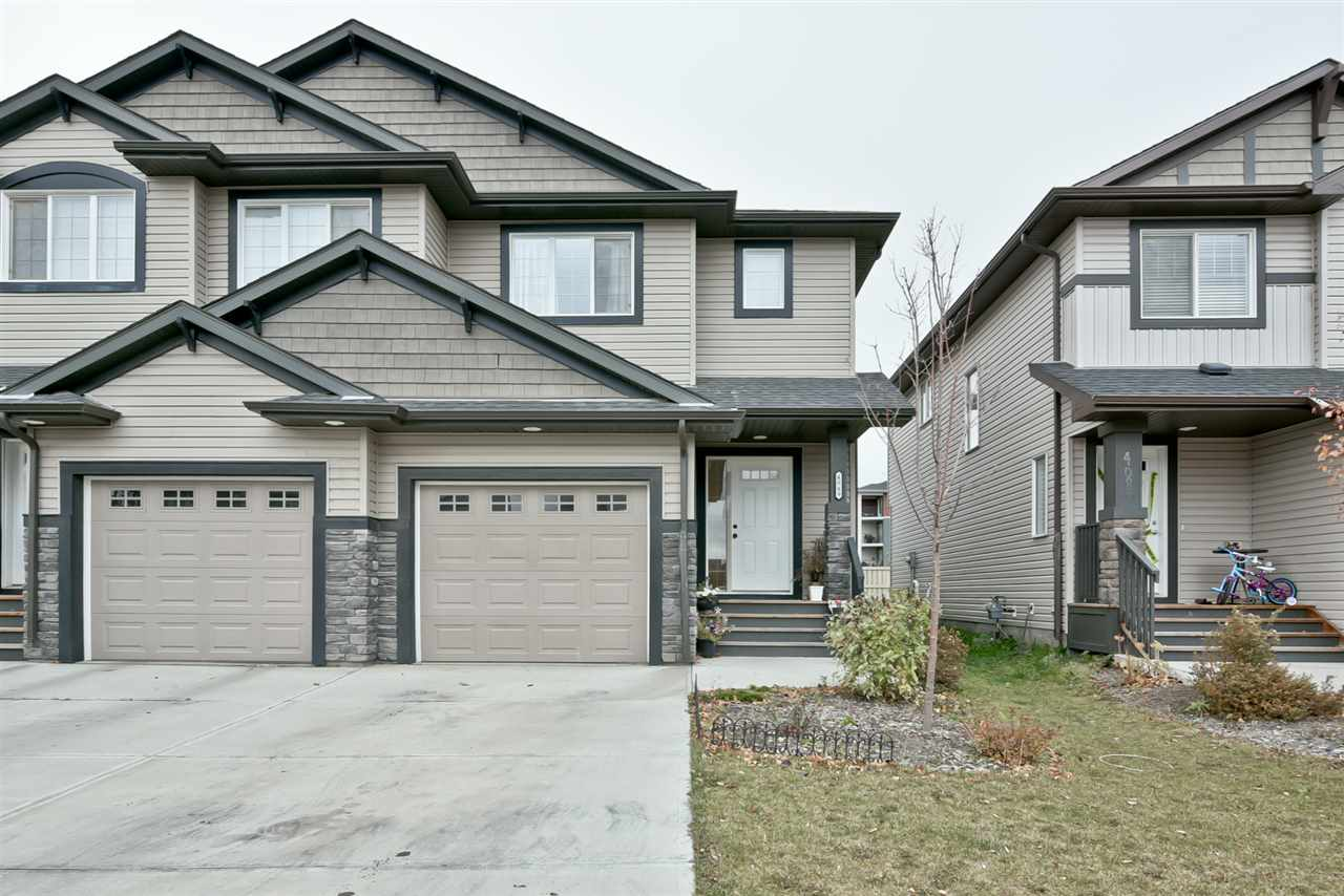 Main Photo: 4089 ALEXANDER Way in Edmonton: Zone 55 House Half Duplex for sale : MLS® # E4085219