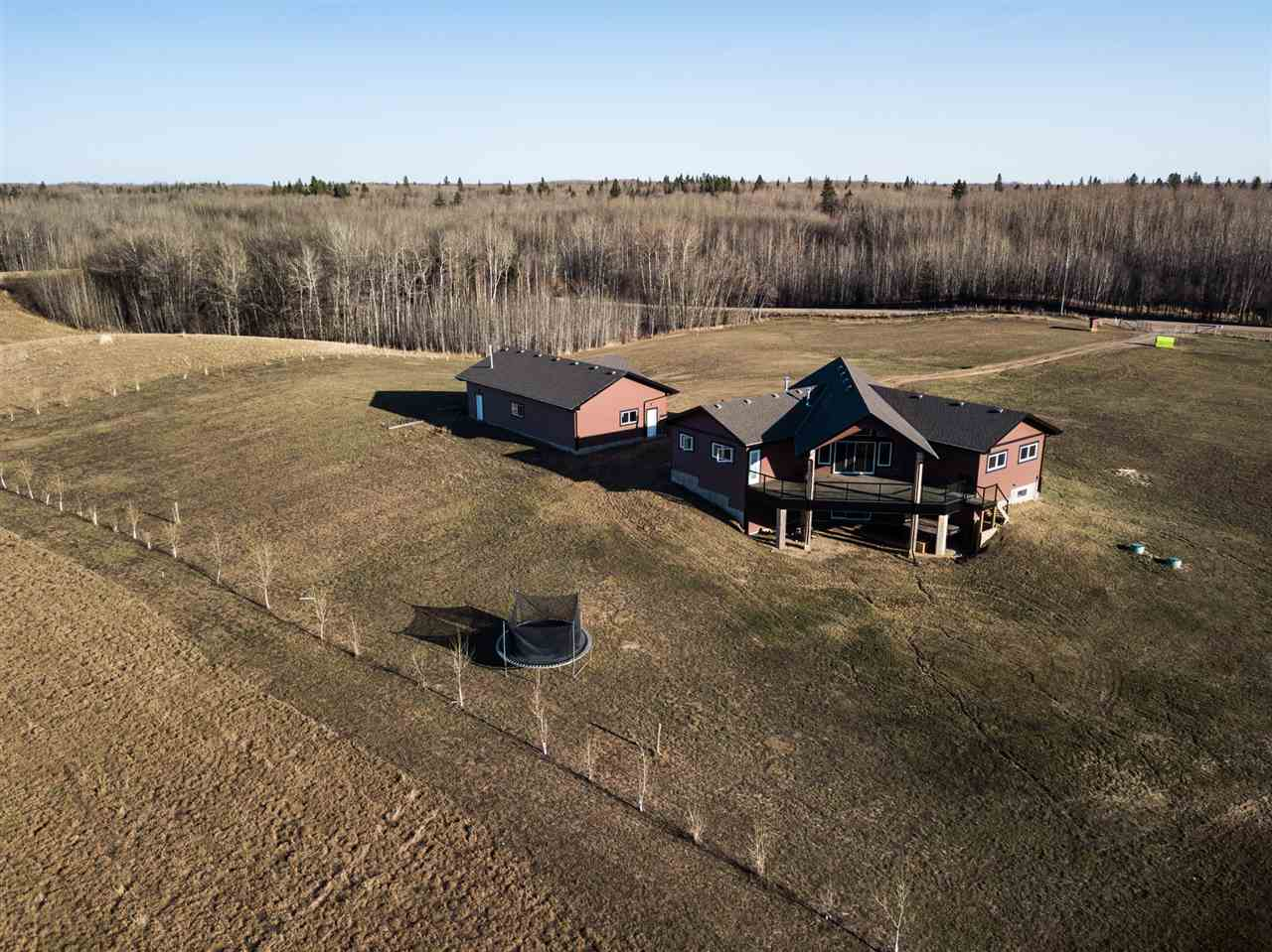 Main Photo: 2332 Township Rd 514 Road: Rural Parkland County House for sale : MLS®# E4108240