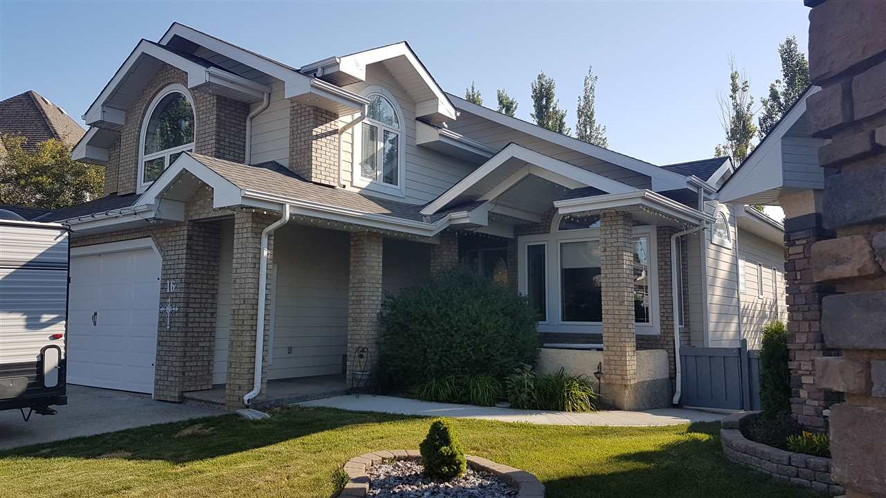 Main Photo: 16 OVERTON Place: St. Albert House for sale : MLS®# E4120084