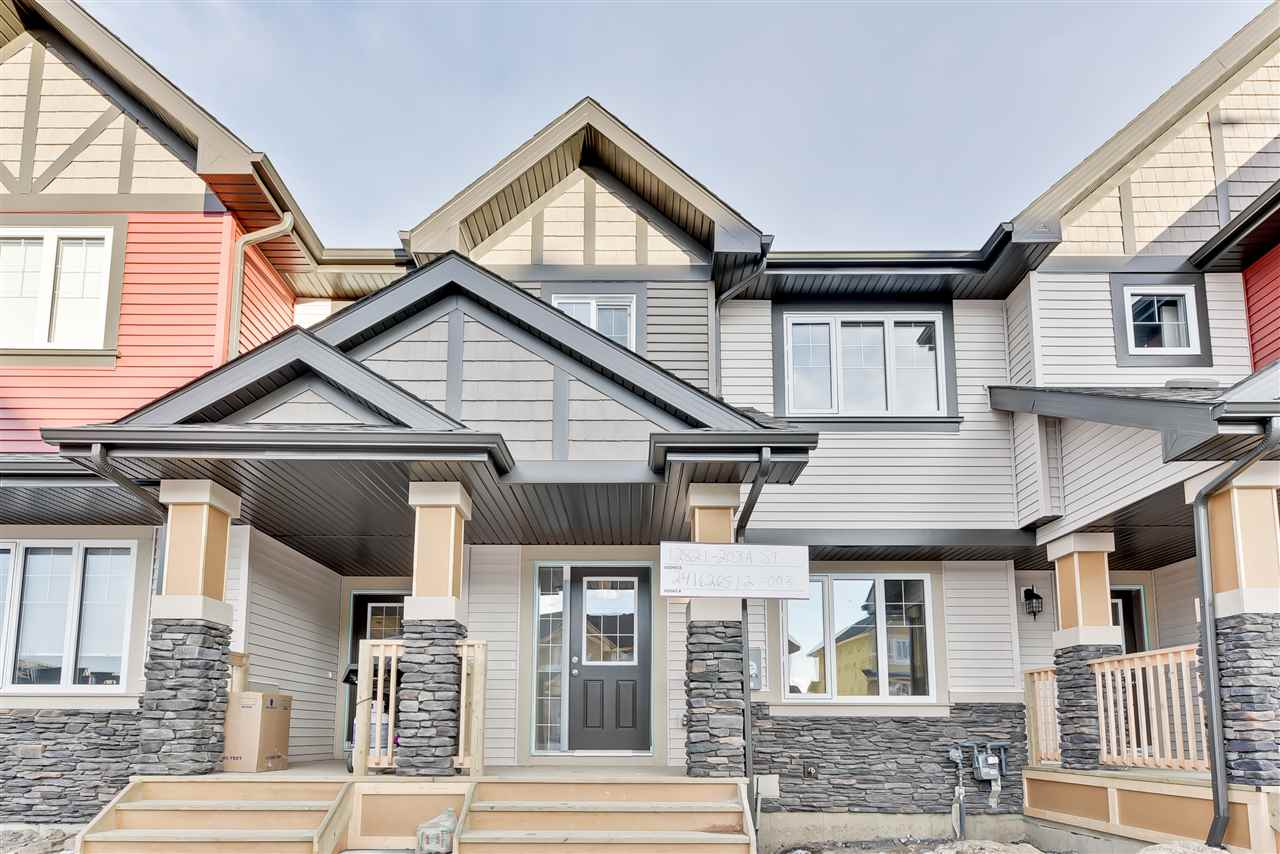 Main Photo: 12821 203A Street in Edmonton: Zone 59 Attached Home for sale : MLS® # E4093795