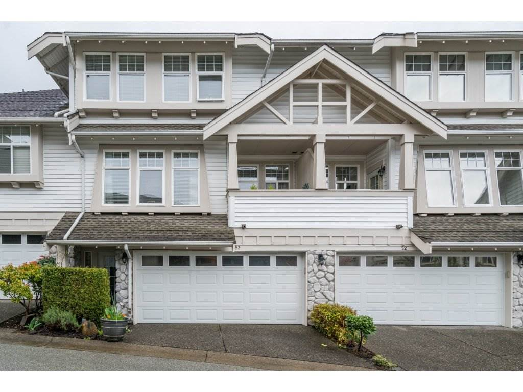 "Main Photo: 53 15037 58 Avenue in Surrey: Sullivan Station Townhouse for sale in ""Woodbridge"" : MLS®# R2255386"