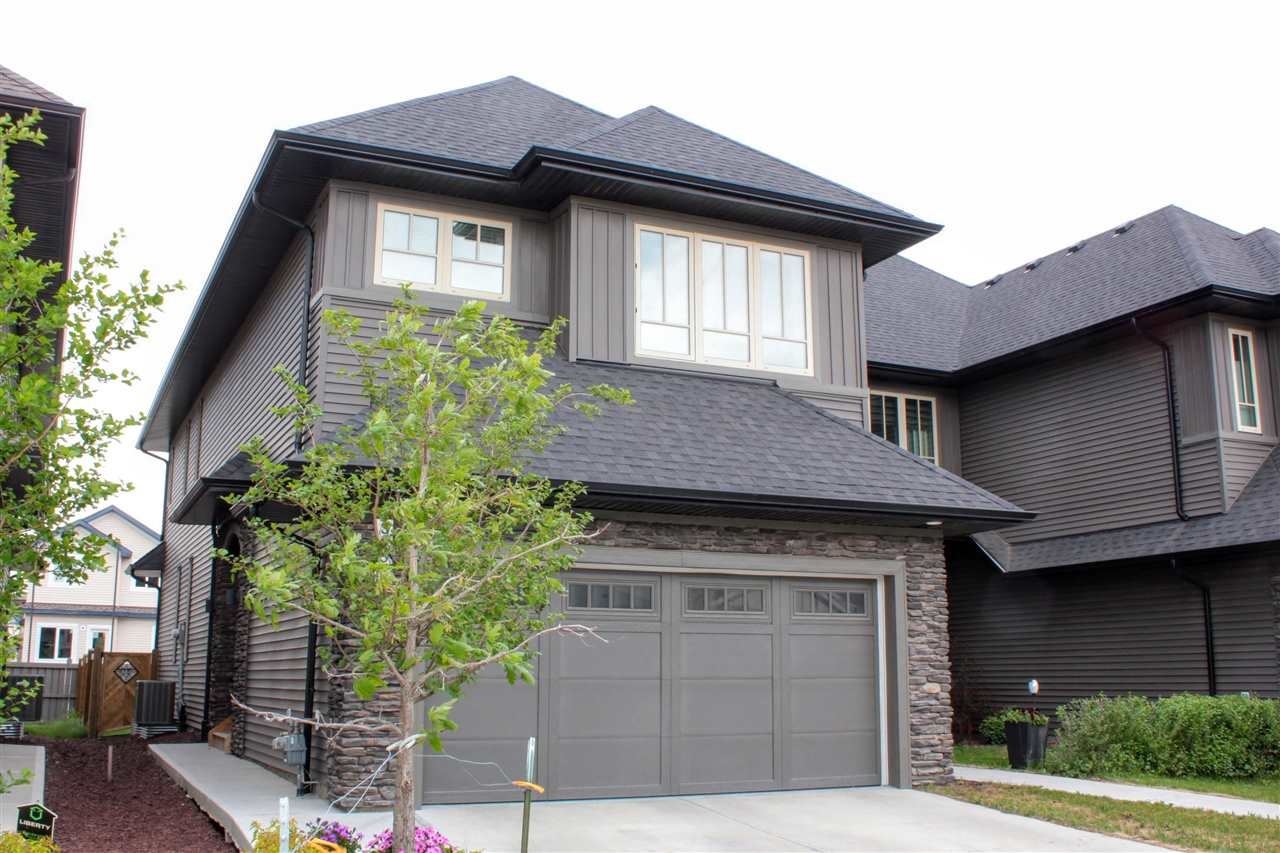 Main Photo: 3252 ALLAN Way in Edmonton: Zone 56 Attached Home for sale : MLS®# E4115722