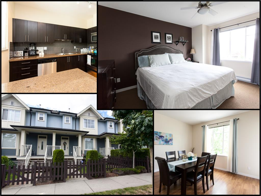 "Main Photo: 10 6575 192 Street in Surrey: Clayton Townhouse for sale in ""Ixia"" (Cloverdale)  : MLS® # R2085614"