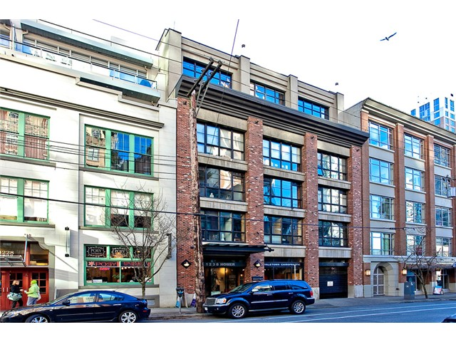 Main Photo: # 403 1238 HOMER ST in Vancouver: Yaletown Condo for sale (Vancouver West)  : MLS®# V1055705