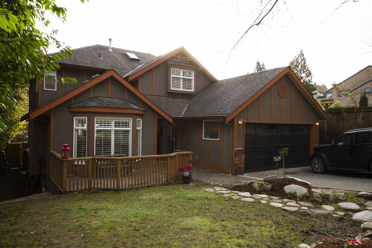 Main Photo: 2051 BURNS Avenue in North Vancouver: Deep Cove House for sale : MLS®# R2038925