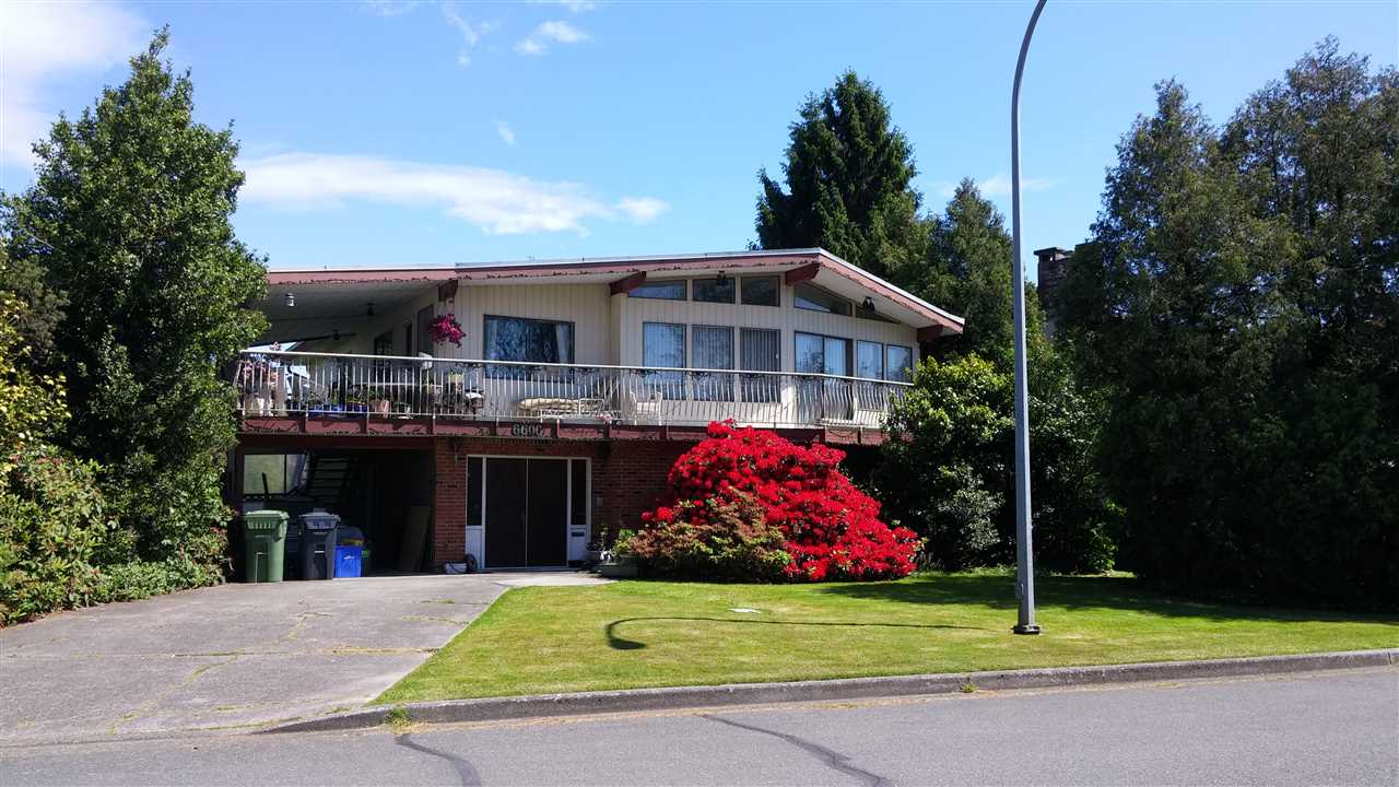 Main Photo: 6600 GAINSBOROUGH Drive in Richmond: Woodwards House for sale : MLS® # R2074914