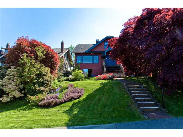 Main Photo: 3830 W 12TH AV in Vancouver: Point Grey House for sale (Vancouver West)  : MLS® # V895140