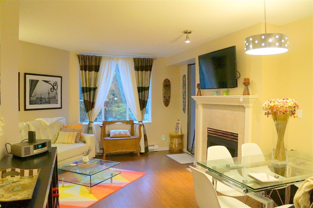 "Main Photo: 107 3608 DEERCREST Drive in North Vancouver: Roche Point Condo for sale in ""DEERFIELD"" : MLS®# R2029308"