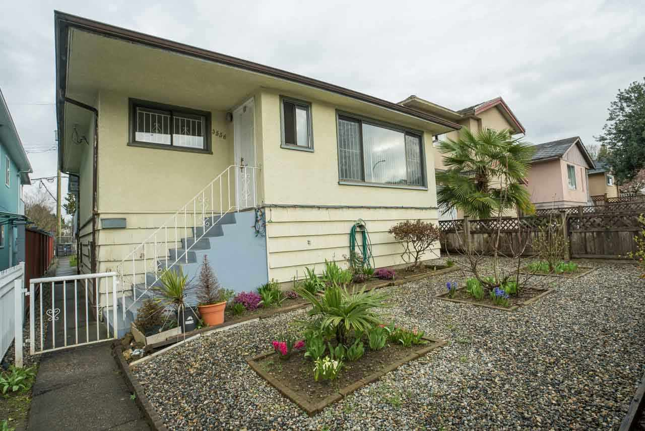 Main Photo: 3556 KNIGHT Street in Vancouver: Knight House for sale (Vancouver East)  : MLS®# R2042829