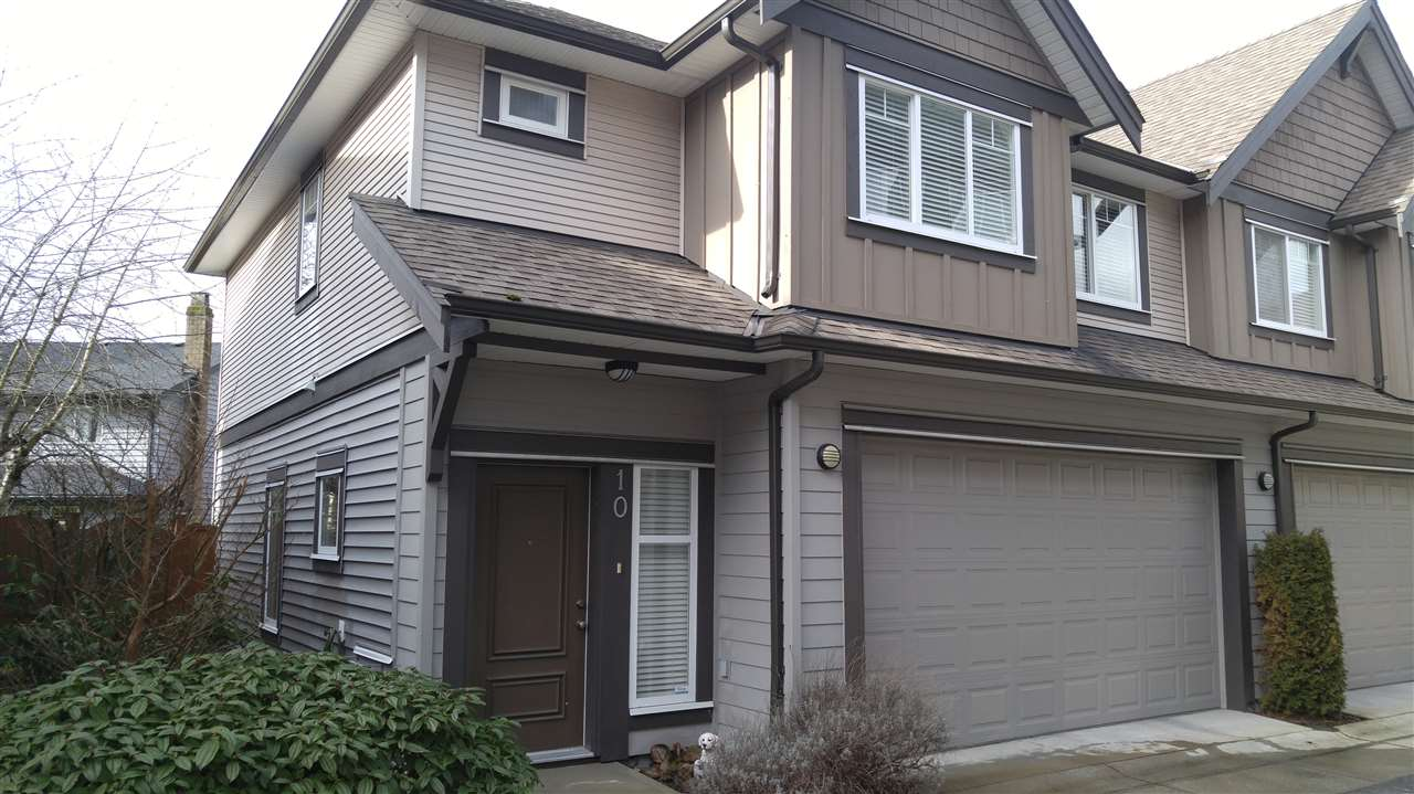 "Main Photo: 10 9733 NO 2 Road in Richmond: Lackner Townhouse for sale in ""TERASA GREEN"" : MLS® # R2032051"