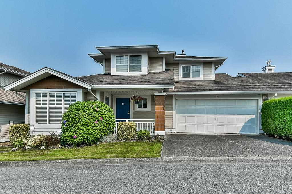 Main Photo: 14 6885 184 Street in Surrey: Cloverdale BC Townhouse for sale (Cloverdale)  : MLS® # R2194948