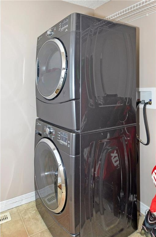 Main floor laundry located in the mud room off the back entrance. Washer and dryer are included & are only 2 years old