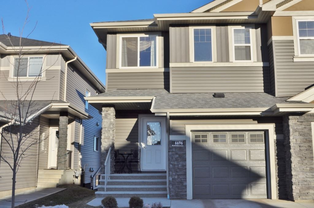 Main Photo: 6696 CARDINAL Road in Edmonton: Zone 55 House Half Duplex for sale : MLS® # E4091012