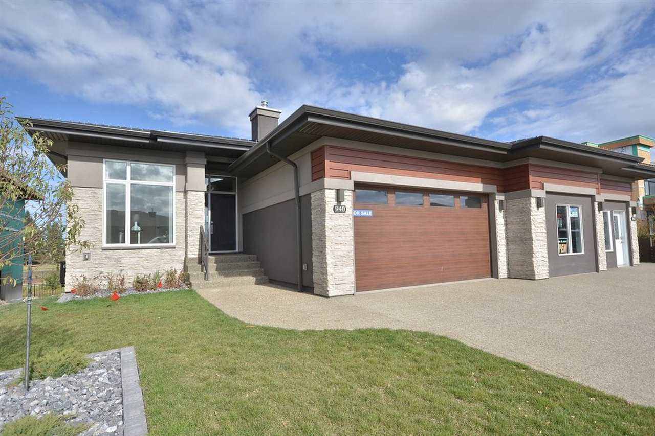 Main Photo: 906 WOOD Place in Edmonton: Zone 56 House Half Duplex for sale : MLS®# E4095302