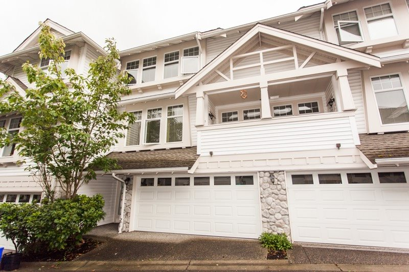 "Main Photo: 46 15037 58 Avenue in Surrey: Sullivan Station Townhouse for sale in ""WOODBRIDGE"" : MLS®# R2103900"