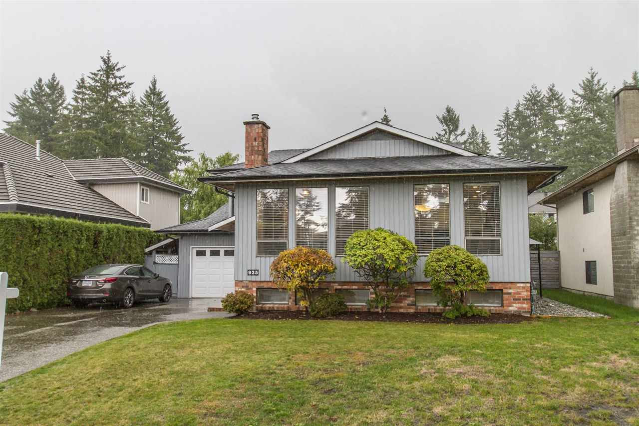 Main Photo: 935 MERRITT Street in Coquitlam: Harbour Chines House for sale : MLS®# R2266786