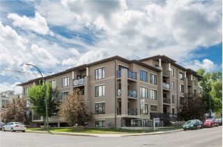 Main Photo: 405 1805 26 Avenue SW in Calgary: South Calgary Condo for sale : MLS® # C4165197