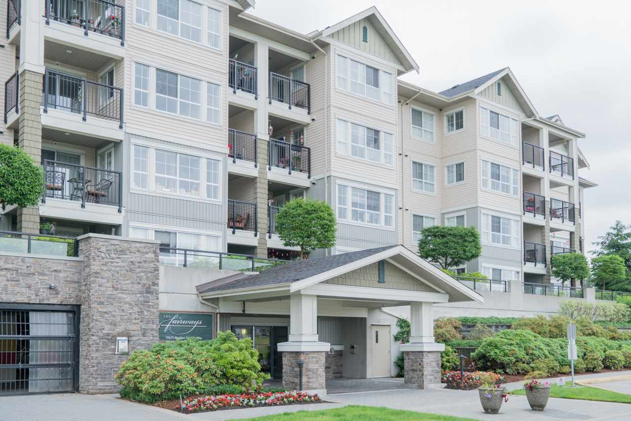 "Main Photo: 122 19673 MEADOW GARDENS Way in Pitt Meadows: North Meadows PI Condo for sale in ""THE FAIRWAYS"" : MLS®# R2172580"