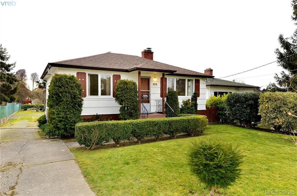 Main Photo: 135 Hampton Road in VICTORIA: SW Gateway Single Family Detached for sale (Saanich West)  : MLS®# 388385