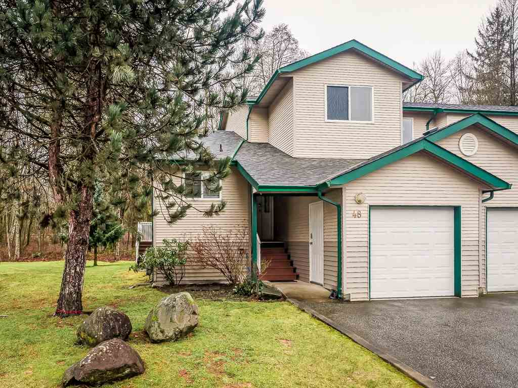 Main Photo: 48 39920 GOVERNMENT Road in Squamish: Garibaldi Estates Townhouse for sale : MLS®# R2034724