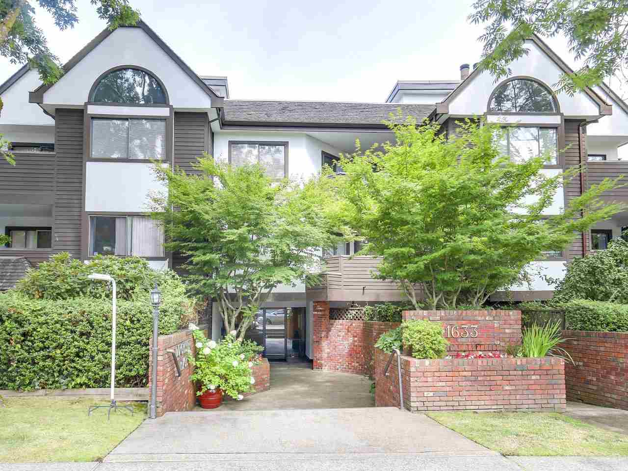 Main Photo: 206 1633 W 11TH AVENUE in Vancouver: Fairview VW Condo for sale (Vancouver West)  : MLS® # R2197304