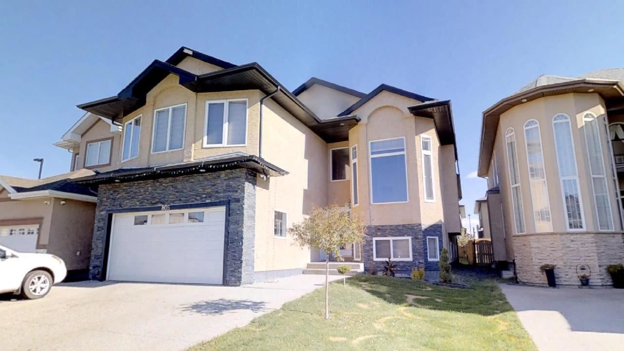 Main Photo: 805 WILDWOOD Crescent in Edmonton: Zone 30 House for sale : MLS®# E4131725