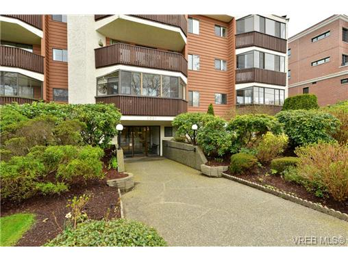 Main Photo: 101 1031 Burdett Avenue in VICTORIA: Vi Downtown Condo Apartment for sale (Victoria)  : MLS® # 361254