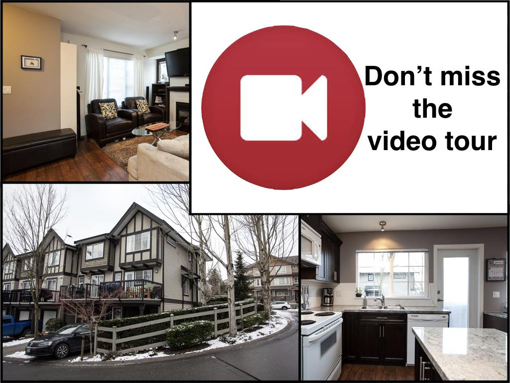 "Main Photo: Videos: 1 20176 68 Avenue in Langley: Willoughby Heights Townhouse for sale in ""Steeplechase"" : MLS®# R2129634"