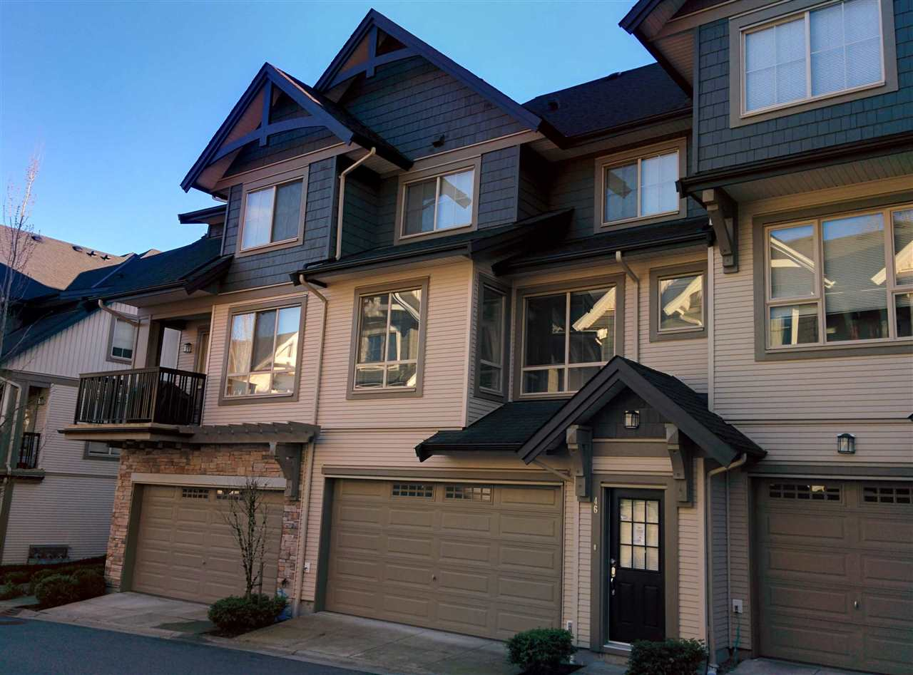 Main Photo: 46 1370 PURCELL DRIVE in Coquitlam: Westwood Plateau Townhouse for sale : MLS® # R2148401