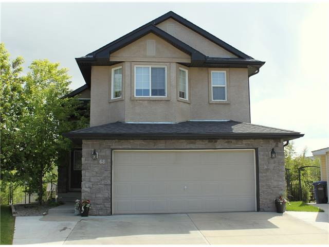 Main Photo: 68 CRYSTAL SHORES Place: Okotoks House for sale : MLS® # C4066673